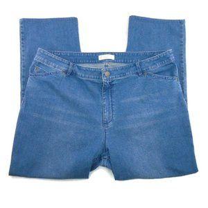 J. Jill Denim Jeans Tried & True Fit Straight Leg